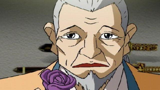 Mature Hentai Homosexual Samurai Getting A Pubic Hair As A Present