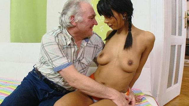 Wanting His Cum, Kim Kneels Sooner Than Him And Takes His Cum All Through Her Youthful Tits.