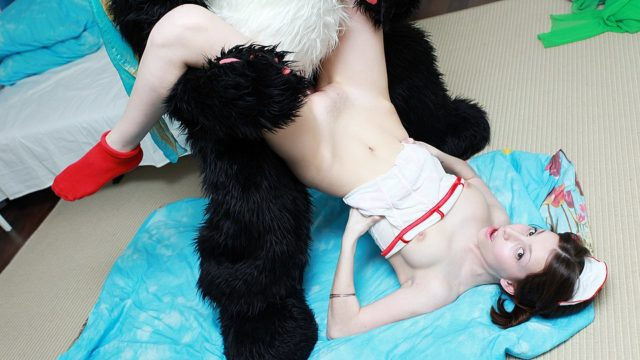 Beautiful Nurse Treatments Panda The Use Of Sizzling Fuck-a-thon