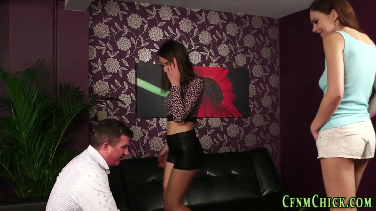 Clad Brits Get Cum