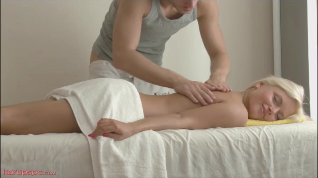 Warm Platinum-blonde Teenage Sexual Rubdown