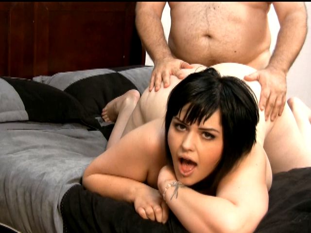 Warm Raven Haired Exgirlfriend Minx Candi Getting Humid Cooch Plowed From The Rear