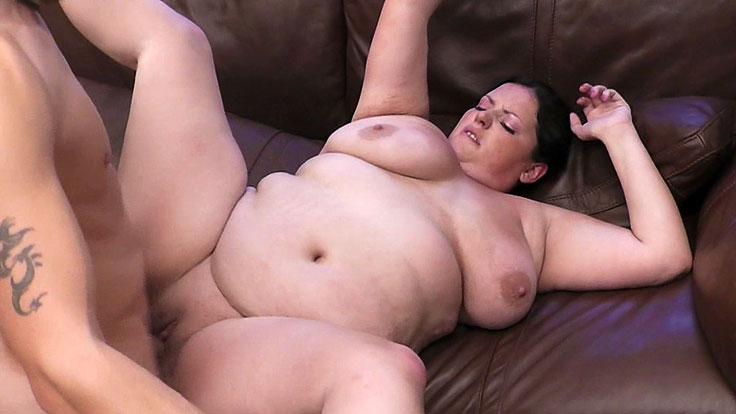 Bbw Beauty Snapped And Plumbed