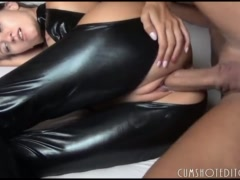 Austrian First-timer Teenage Getting Arse Crammed With Jizm