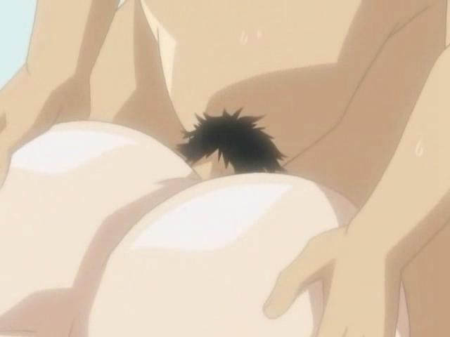 Huge-chested Anime Porn Nymph Is Railing This Enormous Anime Porn Sausage Till They Each Spunk