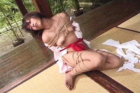 Asian Confined In Wire Restrain Bondage Open Air By Means Of Dom