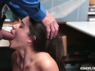 Lp Officer Compelled Avi Enjoy For A Suck Off Fellatio