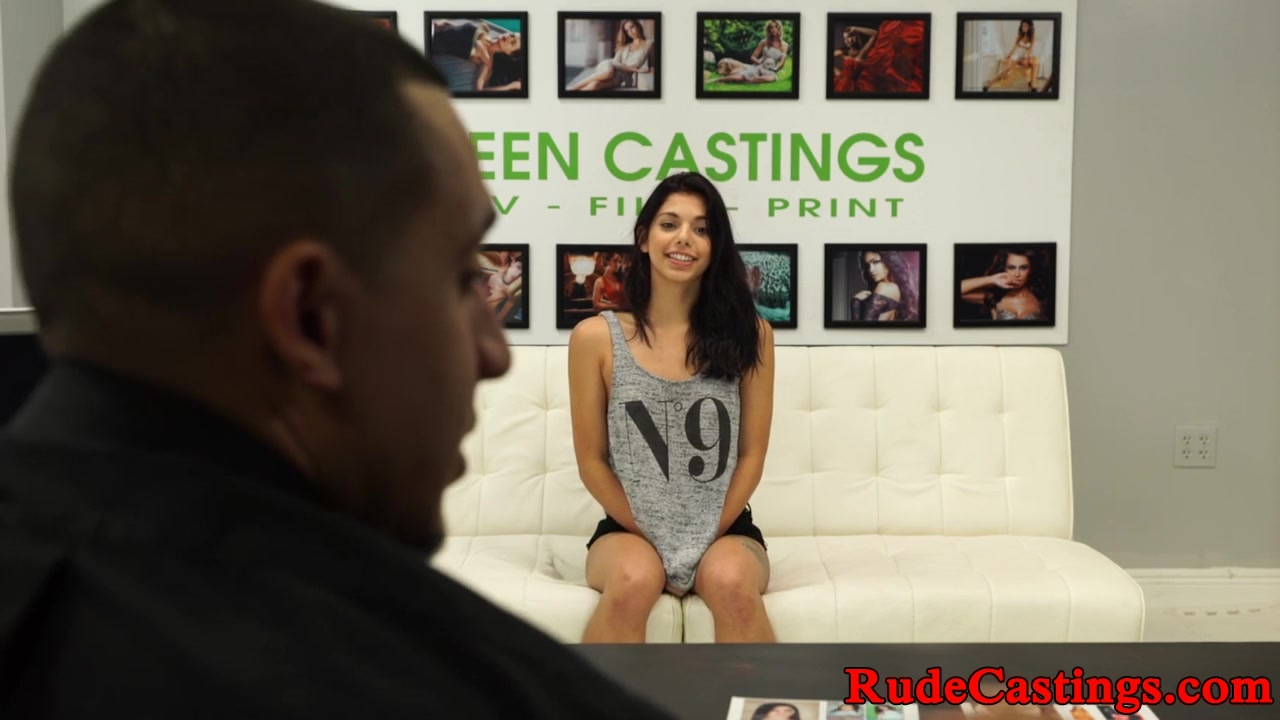 Fleshy Nubile Will Get Roughfucked At Audition