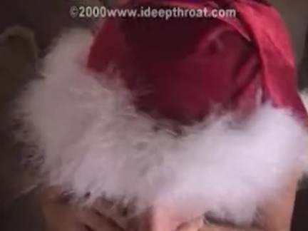 Christmas Angel Fellating Trunk