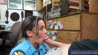 Tossing Salad Anal Invasion Finger-tickling Smashing Juvenile Police Officer