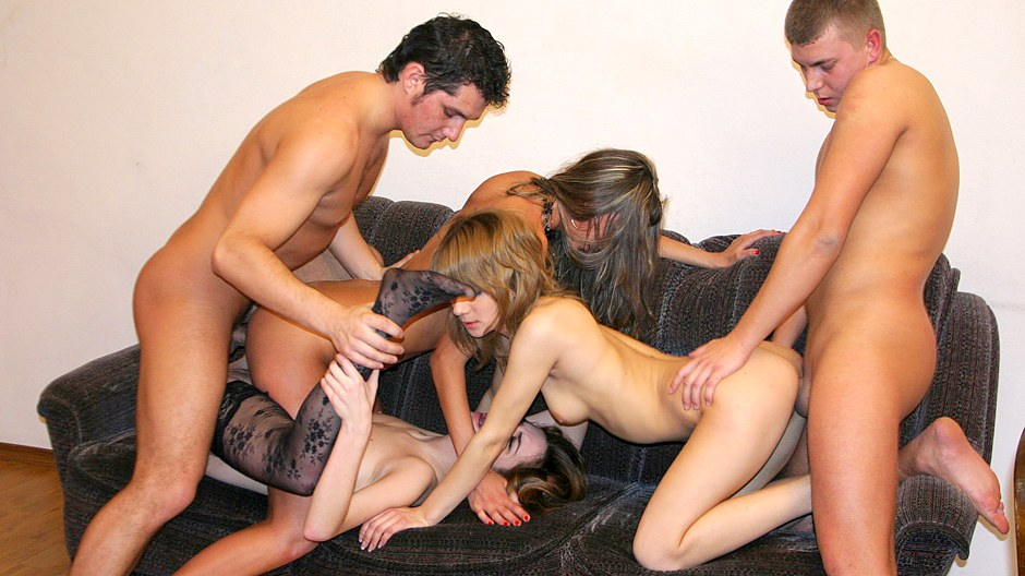 Badass School Women Gargle Meaty Spunk-pumps At Super-fucking-hot Soiree