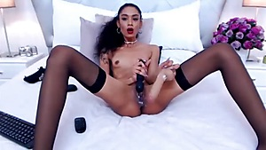 Marvelous Black Queen Humps Each Crevices. How Lengthy Hunkers Kid Lusts?